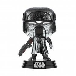 Figurine - Pop! Star Wars 9 - Knight of Ren Blaster (Chrome) - N° 331 - Funko