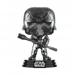 Figurine - Pop! Star Wars 9 - Knight of Ren Club (Chrome) - N° 332 - Funko
