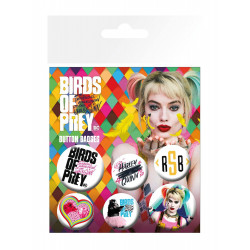 Badge - DC Comics - Birds of Prey - Mix - GB Eye