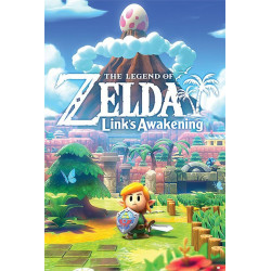 Poster - The Legend of Zelda - Link's Awakening - 61 x 91 cm - Pyramid International