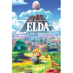 Poster - The Legend of Zelda - Link's Awakening - 61 x 91 cm - Pyramid International