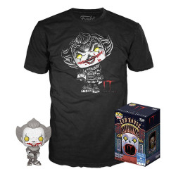 Pack POP & Tee - Ca / It - Figurine Pop! & T-Shirt - Pennywise Exclusive - Funko