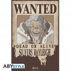 Poster - One Piece - Wanted Rayleigh - 52 x 35 cm - ABYstyle