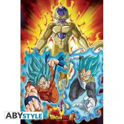 Poster - Dragon Ball Super - Golden Freezer - 91.5 x 61 cm - ABYstyle