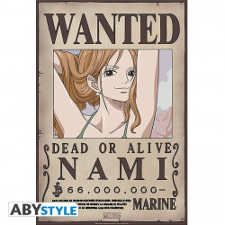 Poster - One Piece - Wanted Nami New - 52 x 35 cm - ABYstyle