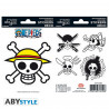 Stickers - One Piece - Pirates Flag - 2 planches de 16x11 cm - ABYstyle
