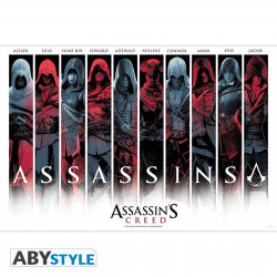 Poster - Assassin's Creed - Assassins - 91.5 x 61 cm - ABYstyle