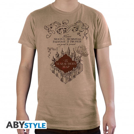 T-Shirt - Harry Potter - Carte du Marauder - ABYstyle