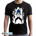 T-Shirt - Dragon Ball Super - Vegeta Royal Blue - ABYstyle