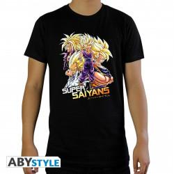 T-Shirt - Dragon Ball Z - Saiyans - ABYstyle