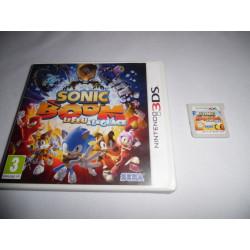 Jeu 3DS - Sonic Boom Le Feu & La Glace