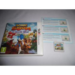 Jeu 3DS - Sonic Boom Le Cristal Brisé