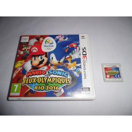 Jeu 3DS - Mario & Sonic aux Jeux Olympiques de Rio 2016