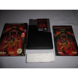 Jeu NES - Swords and Serpents