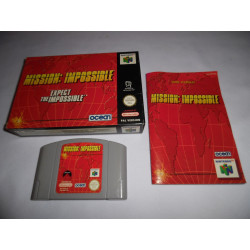 Jeu Nintendo 64 - Mission : Impossible - N64