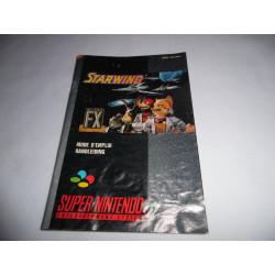 Notice - Super Nintendo - Starwing