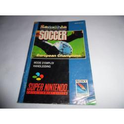 Notice - Super Nintendo - Sensible Soccer