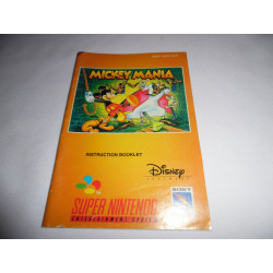 Notice - Super Nintendo - Mickey Mania