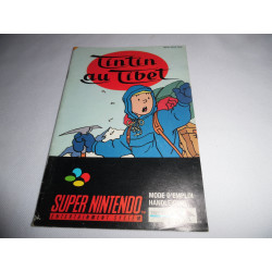 Notice - Super Nintendo - Tintin au Tibet