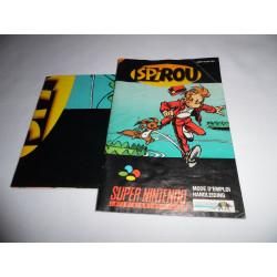 Notice - Super Nintendo - Spirou