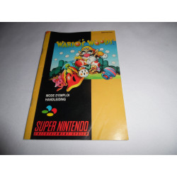 Notice - Super Nintendo - Wario's Woods
