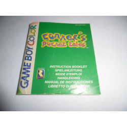 Notice - Game Boy Color - Conker's Pocket Tales
