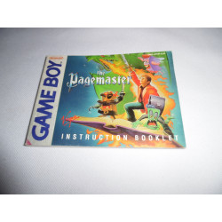 Notice - Game Boy - The Pagemaster