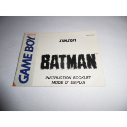 Notice - Game Boy - Batman