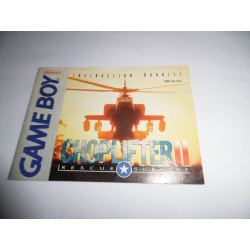 Notice - Game Boy - Choplifter II