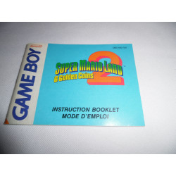 Notice - Game Boy - Super Mario Land 2