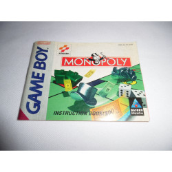 Notice - Game Boy - Monopoly