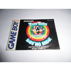 Notice - Game Boy - Tiny Toon Bab's Big Break
