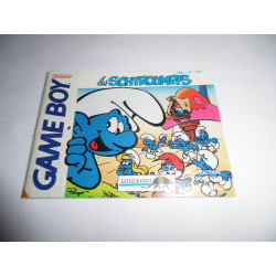 Notice - Game Boy - Les Schtroumpfs
