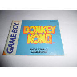 Notice - Game Boy - Donkey Kong