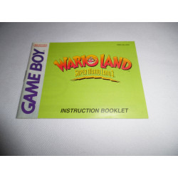 Notice - Game Boy - Super Mario Land 3 Wario Land