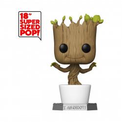 Figurine - Pop! Marvel - Les Gardiens de la Galaxie - Groot 46 cm - N° 01 - Funko