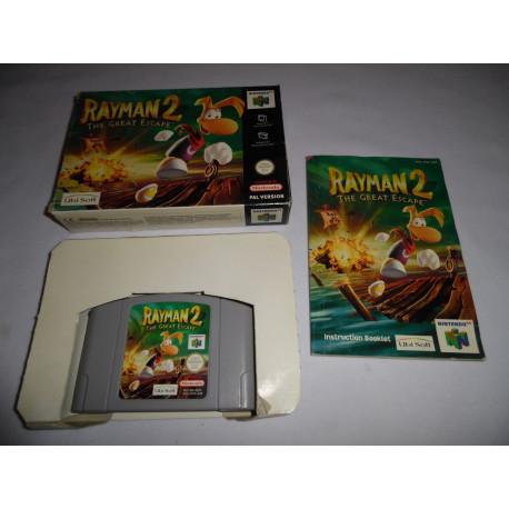 Jeu Nintendo 64 - Rayman 2 : The Great Escape - N64