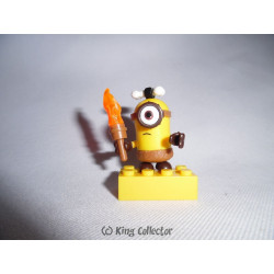 Jeu de construction - Les Minions - Minion Torche - Mega Bloks