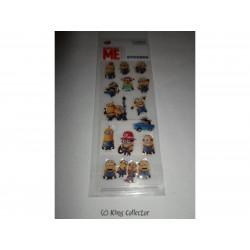 Stickers - Planche de 13 autocollants - Moi Moche et Méchant - Minions