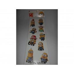 Stickers - Planche de 9 autocollants - Moi Moche et Méchant - Minions