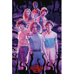 Poster - Stranger Things - Group saison 3 - 61 x 91 cm - GB eye