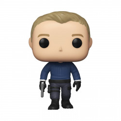 Figurine - Pop! Movies - James Bond - Daniel Craig No Time to Die - N°1011 - Funko