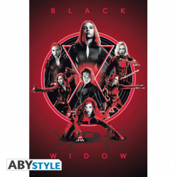 Poster - Marvel - Black Widow Legacy - 91.5 x 61 cm - ABYstyle