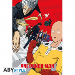 Poster - One Punch Man - Artwork Saison 2 - 91.5 x 61 cm - ABYstyle