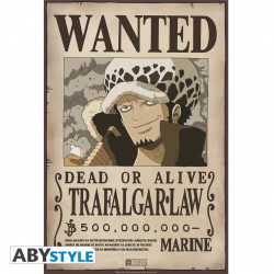 Poster - One Piece - Wanted Trafalgar Law - 52 x 35 cm - ABYstyle