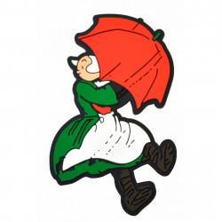 Magnet - Bécassine - Bécassine sous la pluie - Plastoy