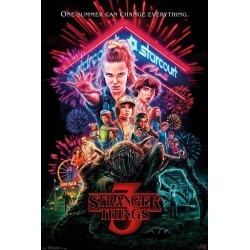 Poster - Stranger Things - One Sheet - 61 x 91 cm - GB Eye