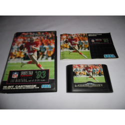 Jeu Mega Drive - Sports Talk '93 Football starring Joe Montana