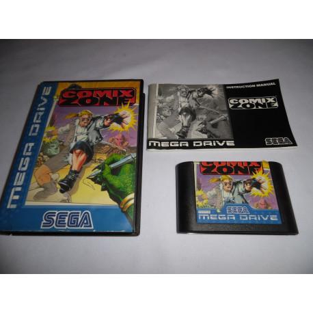 Jeu Mega Drive - Comix Zone