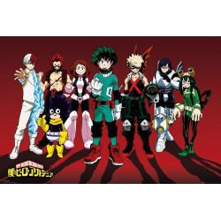 Poster - My Hero Academia - Line Up - 61 x 91 cm - GB eye